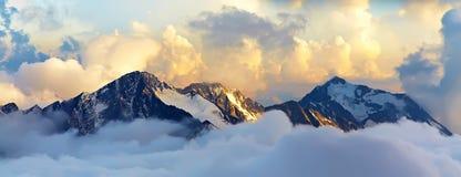 mount krajobrazowa wysokogórska Obraz Stock