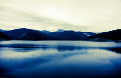 mount lake Fotografia Royalty Free