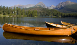mount lake Fotografia Royalty Free