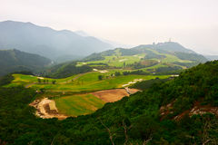 The mount landscape. The photo was taken in Grand Canyon scenic spot Shenzhen city Guangdong province, China Stock Photo