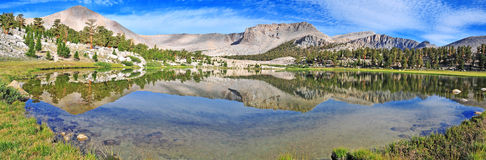 Mount Langley, Sierra Nevada Mountains Stock Images
