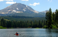 Mount Lassen Royalty Free Stock Photos