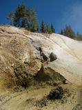 Mount Lassen Mud Pit Stock Images
