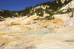 Mount Lassen sulpher pools Stock Images