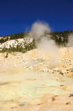 Mount Lassen sulpher springs and mud baths Royalty Free Stock Images