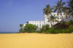 Mount lavinia beach Stock Photo