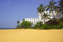 Mount lavinia beach Stock Photo