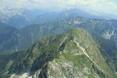 Mount Lemez, Julian Alps, Slovenia Royalty Free Stock Images