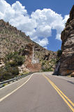 Mount Lemmon Highway Royalty Free Stock Photography