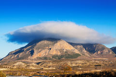 Mount and Lenticular cloud Royalty Free Stock Photo