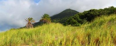 Mount Liamuiga in Saint Kitts Royalty Free Stock Photos