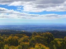 Mount Lofty Summit stock photo