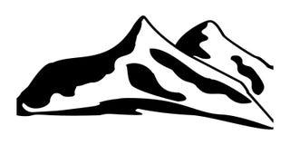 Mount Logo Design Vector. Illustration on white background stock illustration