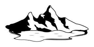 Mount Logo Design Vector. Illustration on white background vector illustration