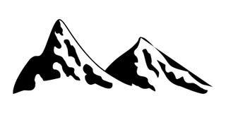 Mount Logo Design Vector. Illustration on white background royalty free illustration
