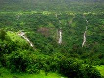 Mount Lohgad Waterfalls-I Stock Images