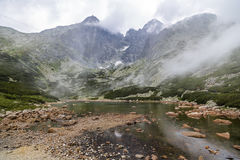 Mount Lomnicky Peak in the High Tatras Royalty Free Stock Photo