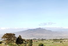 Mount Longonot in the great rift valley of Kenya Stock Image