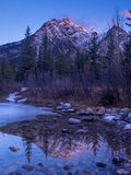 Mount Lorette Ponds in Kananaskis Country Royalty Free Stock Images