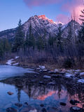 Mount Lorette Ponds in Kananaskis Country Stock Photography