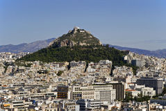 Mount Lycabettus. In Athens, Greece Stock Images
