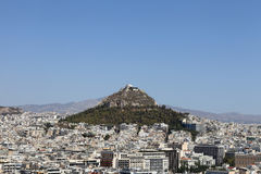 Mount Lycabettus Royalty Free Stock Image