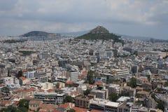 Mount Lycabettus Стоковая Фотография