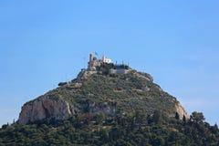 Mount Lycabettus Stock Image