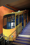 Mount Lycabettus funicular Stock Photo