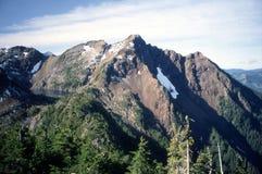 Mount Macfarlane Horizontal. Mount Macfarlane as seen from Mount Pierce. British Columbia Royalty Free Stock Image
