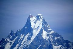 Mount Machhapuchhre Stock Images