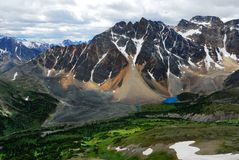 mount majestic lake Zdjęcie Stock