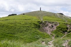 On the of the mount Maly Krivan, Lesser Fatra, Slovakia royalty free stock photography