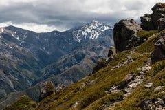 Mount Manakau in Kaikoura Ranges Stock Photography