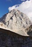 Mount Mangart, Slovenia Stock Image
