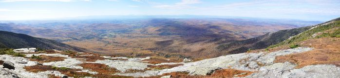 Mount Mansfield panorama Royalty Free Stock Images