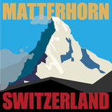 Mount Matterhorn background Stock Photo