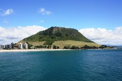 Mount Maunganui Royalty Free Stock Photo