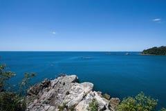 Mount Maunganui beach rock, New Zealand Royalty Free Stock Photos