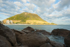 Mount Maunganui beach scenes. Stock Photography