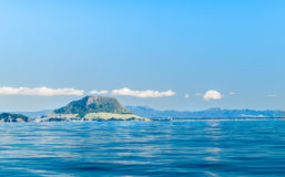 Mount Maunganui landmark on horizon. Stock Photography