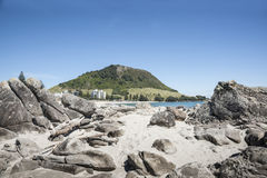 Mount Maunganui, New Zealand. Royalty Free Stock Photography