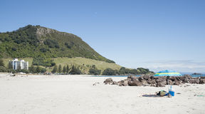 Mount Maunganui, New Zealand. Stock Photo