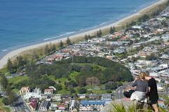 Mount Maunganui View Stock Image