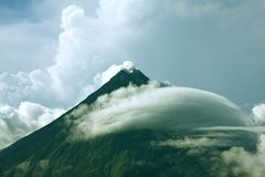 Mount Mayon (Volcano) Royalty Free Stock Photo