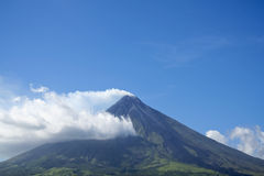 Mount mayon volcano luzon philippines Royalty Free Stock Photo