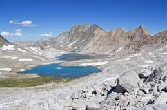 Mount McGee and Davis Lake Royalty Free Stock Image