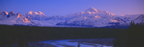 Mount McKinley Royalty Free Stock Photo