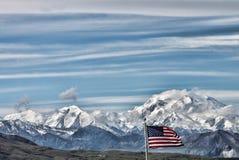 Mount McKinley Alaska Royaltyfri Fotografi
