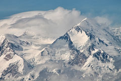 Mount McKinley Alaska Arkivbild